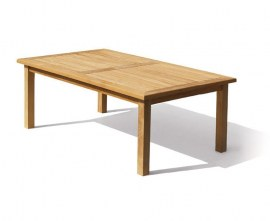 Gladstone Teak Rectangular Garden Dining Table - 2m