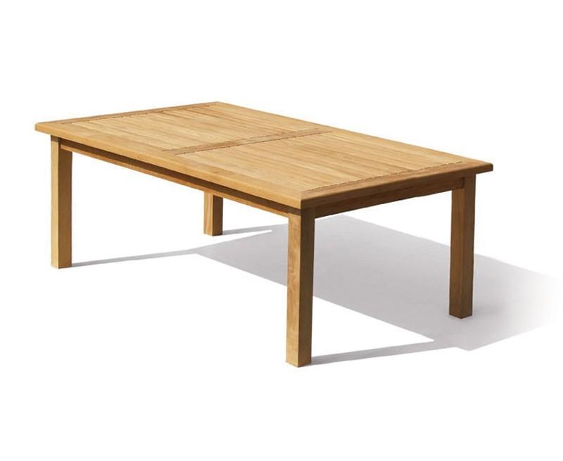 Gladstone Teak Rectangular Garden Dining Table - 2m