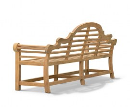 Chinoiserie Decorative Outdoor Bench