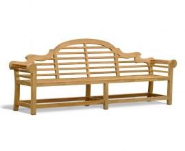 Teak Lutyens-Style Bench 2.7m