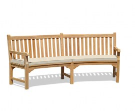 Rounded Garden Bench