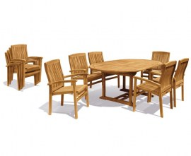 Oxburgh Extending Table and Chairs Set