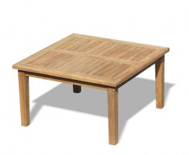 Winchester Square Teak Coffee Table - 90cm
