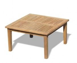 Winchester Square Teak Coffee Table - 90cm