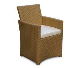 Azure Rattan Outdoor Armchair