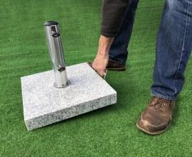 Granite Parasol Stand