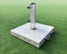 Square Granite Parasol Base