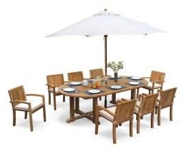 Winchester Teak Garden Set with Antibes Chairs