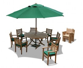 Lymington Teak Garden Dining Set