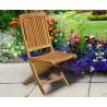 Palma Teak Folding Garden Chair