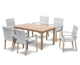 Hampton Teak Table and Chairs Set