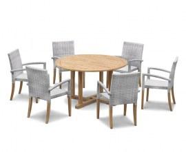 Sissinghurst Teak Outdoor Dining Set