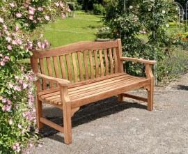 Austen Teak Garden Bench - 1.5m