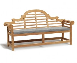 Lutyens Outdoor Bench Cushion - 4 Seater