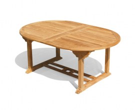 Oxbugh Teak Table and Chairs Garden Set