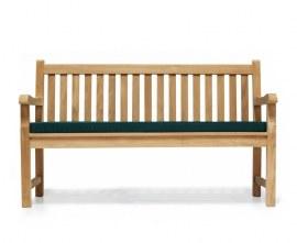 York Teak Park Bench - 1.5m