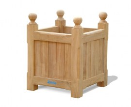 Teak Versailles Planter - Small