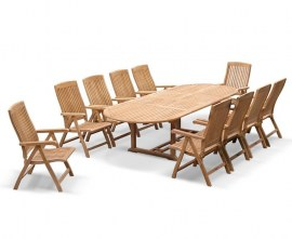 10 Seater Outdoor Dining Set