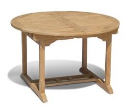 Oxburgh Extendable Garden Table - Closed