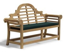 Lutyens-style Teak Outdoor Bench