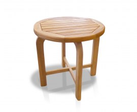 Monte Carlo Teak Round Side Table