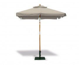 Square Tilting Garden Parasol with Valance - 2m