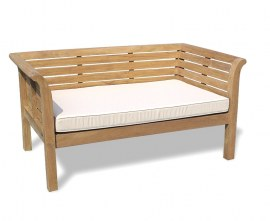 Mustique Teak Outdoor Daybed - 1.5m