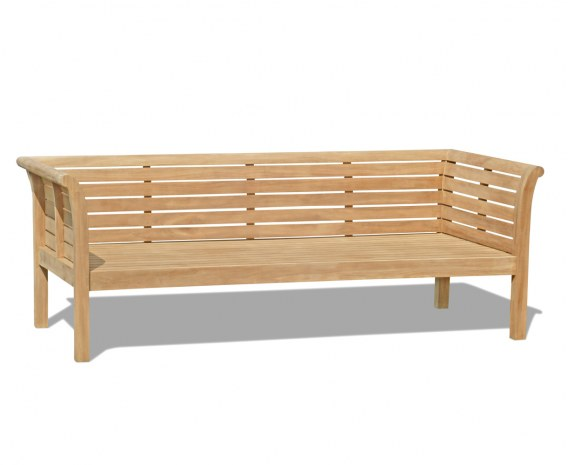 Mustique Large Teak Outdoor Daybed - 2.1m