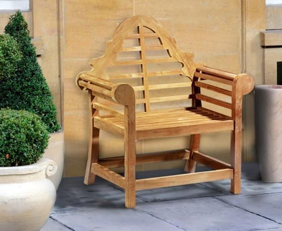 Teak Decorative Armchair