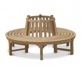 Teak Round Tree Seat 1.8m