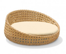 Marbella Open Weave Rattan Daybed