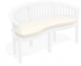 banana half moon bench cushion
