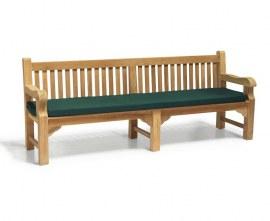 2.4m heavy duty garden bench