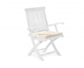 Tie-On Outdoor Chair Seat Pad