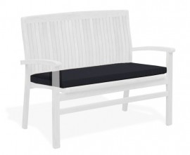 Cannes Garden Bench Seat Pad Cushion - 1m