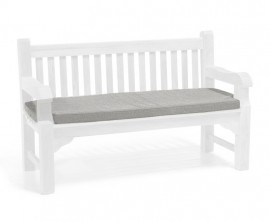 Garden bench seat pad cover