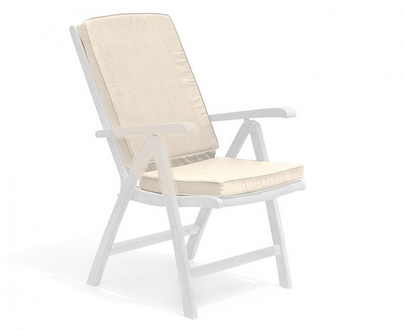 Patio recliner chair cushion