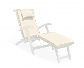 Steamer Lounger Cushion Pad Natural