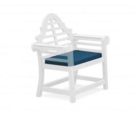 Lutyens-style Garden Armchair Cushion, Patio Furniture Cushion