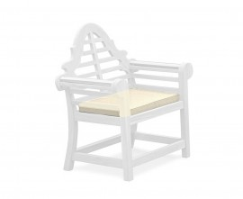 Lutyens-style chair seat pad