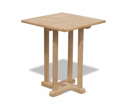 Sissinghurst Teak Square Garden Table - 60cm