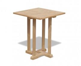 Sissinghurst Teak Square Garden Table - 60cm