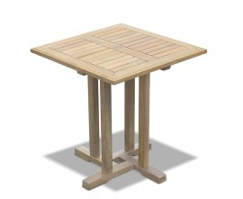 Sissinghurst Teak Square Garden Table - 70cm