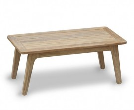 Belmont Teak Mid-Century Modern Coffee Table – 1.2m