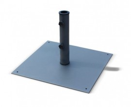 Medium Square Steel Parasol Base - 13kg