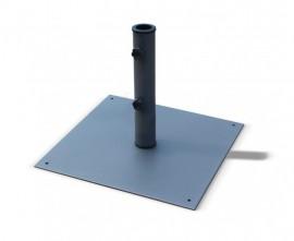 Square Steel Parasol Base - 13kg