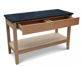 Outdoor Console Table with Drawers
