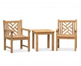 Chartwell Teak Garden Conversation Set