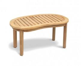 Apollo Reclaimed Teak Coffee Table - Rustic Finish
