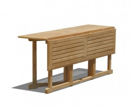 Byron Teak Folding Garden Table